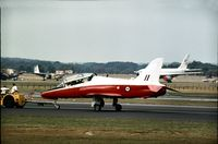 XX158 @ FAB - As displayed at the 1976 Farnborough Airshow. - by Peter Nicholson