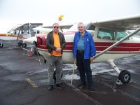 N12215 @ ITO - Father-In-Law First Flight In A Real Airplane - by J.M.Swatek