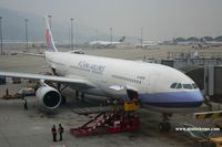 B-18353 @ VHHH - China Airlines - by Michel Teiten ( www.mablehome.com )