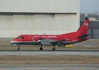N434XJ @ DTW - Mesaba Saab 340