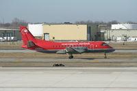 N435XJ @ DTW - Mesaba Saab 340