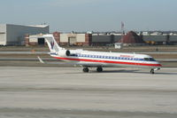 N502AE @ DTW - American Eagle CRJ-700