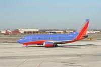 N505SW @ DTW - Southwest 737-500