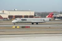 N787NC @ DTW - Northwest DC-9-51