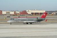 N8733G @ DTW - Pinnacle CRJ-200