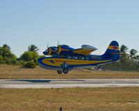 N48550 @ KLNA - Goose Take Off - by Kim Paolini