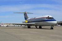N196US @ GKY - USA Jet Cargo at Arlington Municipal