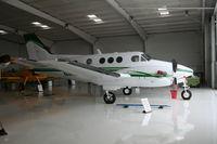 N44GP @ SEF - Beech C90A King Air - by Florida Metal