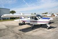 N120LS @ SEF - Costruzioni Aeronautiche Tecna P92 - by Florida Metal
