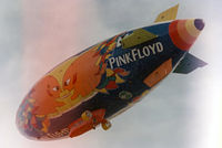 N600LP @ GKY - Pink Floyd paint...airship destroyed June 27th, 1994 in North Carolina wind storm. Envelope was cut up and pieces sold to fans through Rolling Stone.