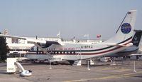 G-BPKZ @ LFPB - Shorts 360-300 of China Asia Airlines at the Aerosalon 1989, Paris