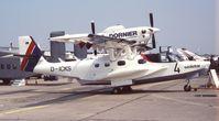 D-ICKS @ LFPB - Dornier CD-2 Seastar at Salon Aéronautique, Paris 1989 - by Ingo Warnecke