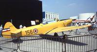 F-AZEB @ LFPB - UTVA Aero 3F at the Aerosalon 1989, Paris