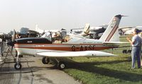 G-AXSF @ EGLF - Nash Petrel at Farnborough International 1982