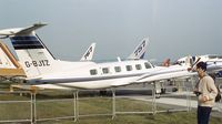 G-BJIZ @ EGLF - Piper PA-42-720 Cheyenne III at Farnborough International 1982