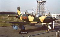 G-NDNI @ EGLF - NDN NDN-1 Firecracker at Farnborough International 1982