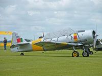 G-BGPB @ EGSU - CCAF Harvard 4/Duxford Flying Legends Show 2008 - by Ian Woodcock