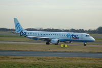 G-FBEG @ EGCC - Flybe - Taxiing - by David Burrell