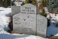 67-15717 - At the Veterans Memorial Park in Ryan, IA - by Glenn E. Chatfield