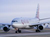 A7-ACM @ EGCC - Qatar Airways - by Chris Hall