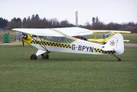 G-BPYN @ EGLM - J3C-65 Cub - by moxy