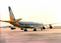 N906R @ DFW - WIEN Air DC-8 ast DFW