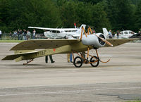 F-PDEP @ LFOA - Ready for his show... It was the oldest plane at this Airshow... - by Shunn311