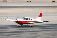 N129MA @ VGT - 1995 Piper PA-28-181 - by Geoff Smith