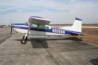 N6166N @ SEF - Cessna 185F