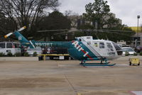 N912ET - East Texas Medical Center Air1 Sitting on the pad at ETMC Tyler Texas - by thefossilmedic