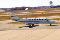 N405CS @ CID - Taxiing by the tower on the way to Landmark FBO - by Glenn E. Chatfield