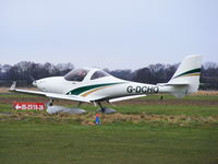 G-DCHO @ EGCV - taxiing out at Sleap - by chris hall