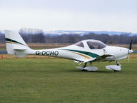 G-DCHO @ EGCV - on the apron at Sleap - by chris hall