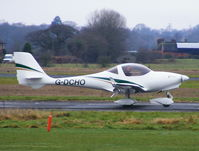 G-DCHO @ EGCV - back tracking up the R/W after landing - by chris hall