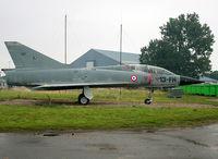 207 @ LFOE - Preserved Mirage III inside LFOE Air Base - by Shunn311