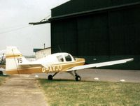 G-AXJJ @ EGTR - Beagle Pup at its home base in 1975 - by GeoffW