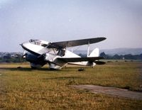 G-AIDL @ EGHN - DH-89A Dragon Rapide G-AIDL spent several years in the late 1970's and early 1980's operating round the Isle of Wight pleasure flights from Sandown - by GeoffW