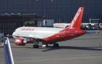 D-ABGF @ EDDT - Airbus A319-100 of AirBerlin at Berlin Tegel airport