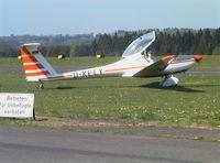 D-KELY @ EDKV - Hoffmann H-36 Dimona at Dahlemer Binz airfield - by Ingo Warnecke
