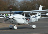 G-TPSL @ EGLK - TAXYING OUT TO RWY 07 - by BIKE PILOT