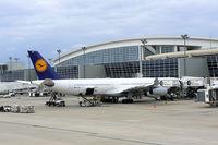 D-AIGK @ DFW - Lufthansa at the gate @ DFW