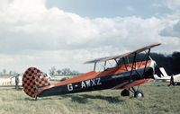 G-AWXZ - This Stampe attended the Shuttleworth Collection display at Old Warden in the Spring of 1973. - by Peter Nicholson
