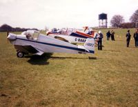 G-BGFJ @ EGHP - Jodel D.9 G-BGFJ attending the 1983 Jodel fly-in at Popham - by GeoffW