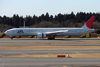 JA735J @ RJAA - JAL B777 at Narita