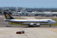 9V-SFN @ YSSY - Singapore Cargo B747F at Sydney