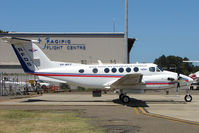 VH-MVY @ YSSY - Flying Doctor Services Beech 200 at Sydney