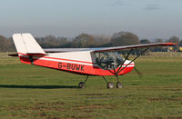 G-BUWK @ EGKH - rans s6 microlight - by Martin Browne
