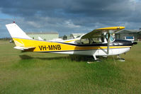 VH-MNB @ YCAB - Cessna 182C at Caboolture, QLD