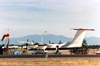 N5382W @ LAM - Dash-7 at Los Alamos, NM - by Zane Adams
