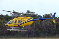 VH-FUQ @ YCUD - Bell 206L-1 (c/n 45279) at Caloundra